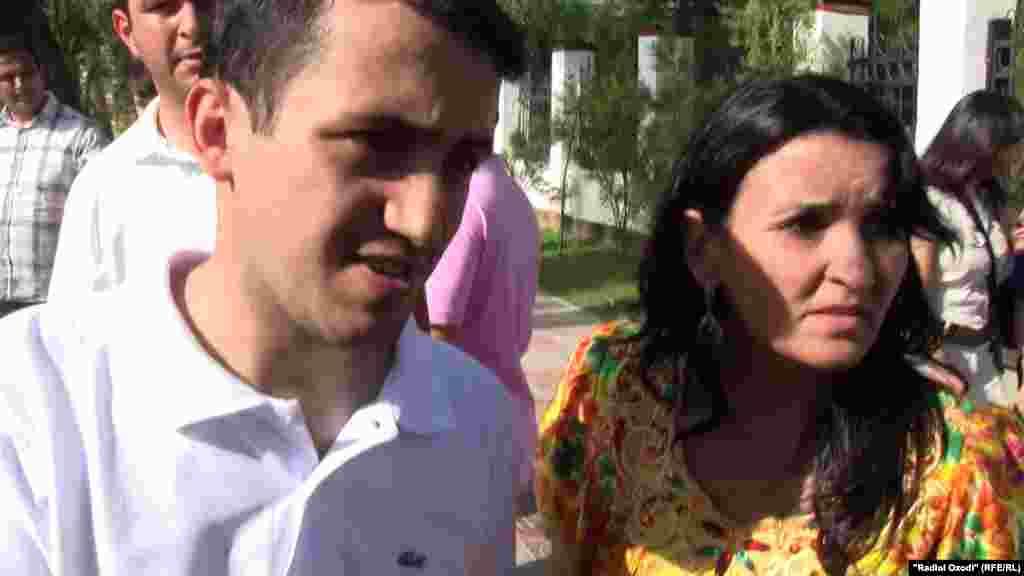 Хайрулло Саидов и Мавджуда Сохибназарова