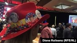 Люди в предвыборном штабе Республиканской партии в Аризоне. 8 ноября 2016 года.