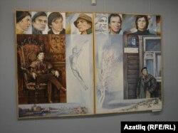 Рудольф Нуриевка багышланган диптих