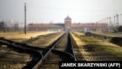 An estimated 1.1 million people died at Auschwitz-Birkenau during Wurld War II. (file photo)