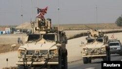 آرشیف، نیروهای امریکایی در سوریه.