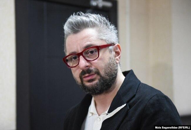 """Генеральный директор """"Главного канала"""" Ника Гварамия"""