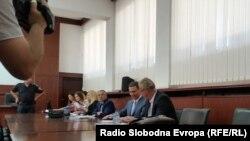 Bivši premjer Nikola Gurevski na sudu 21. jula 2017.