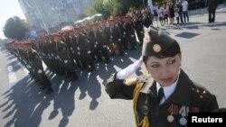 Parada militară din Tiraspol, 2 septembrie 2012