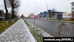 На цэнтральнай вуліцы Савецкай