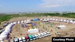 Мероприятие акимата Кызылординской области «по выдаче земель». Кызылорда, 4 июля 2016 года.
