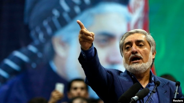 "Afghan presidential candidate Abdullah Abdullah says he won the election and he will ""not accept a fraudulent result, not today, not tomorrow, never."""