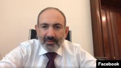 Armenia -- Prime Minister Nikol Pashinian appeals to Armenians, March 31, 2020.
