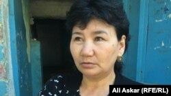 Улжан Ержигитова, жительница Актобе.