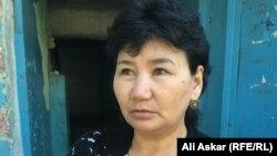 Жатақхана тұрғыны Ұлжан Ержігітова. Ақтөбе, 12 маусым 2016 жыл.