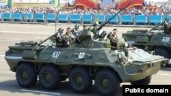 БТР-82А на вайсковым парадзе ў Казахстане