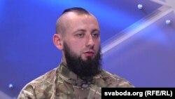 Доброволець із Білорусі із позивним «Зубр»