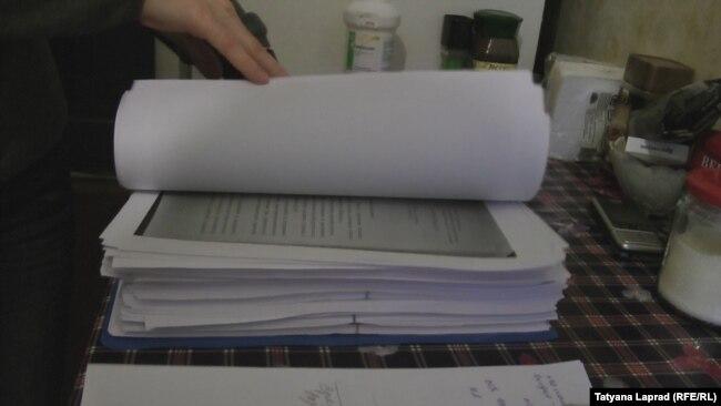 Три тома уголовного дела Оксаны Походун