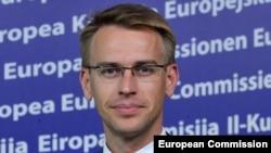 Пресс-секретарь комиссара ЕС по вопросам расширения Питер Стано