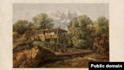 Карло Боссоли. Татарский дом в Алупке