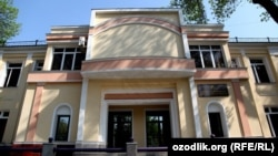 Здание Министерства здравоохранения Узбекистана.