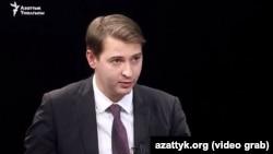 Министр экономики Кыргызстана Артем Новиков.