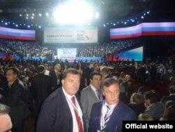 Milorad Dodik na kongresu Jedinstvene Rusije, septembar 2011.