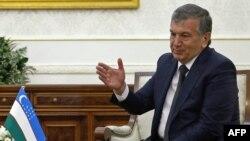 Өзбекстан премьер-министрі және президенттің міндетін уақытша атқарушы Шавкат Мирзияев. Самарқанд, 3 қыркүйек 2016 жыл.