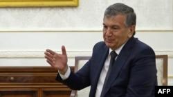 Ўзбекистон президенти вазифасини бажарувчи Шавкат Мирзиёев.