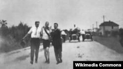 Томас Хикс на марафонской дистанции. 1904 год, Олимпиада в Сент-Луисе