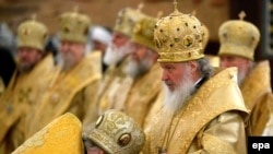 Metropolitan Kirill has emerged as the front-runner -- for now.