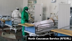 Ковид-госпиталь в Махачкале