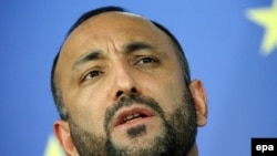 Afghan Interior Minister Mohammad Hanif Atmar