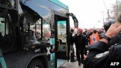 صحنهای از حملات پیشین به اتوبوسها در بیتالمقدس