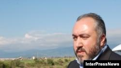 Грузинский министр по вопросам реинтеграции Темур Якобашвили на встрече с журналистами