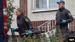 Ilustrim - bastisje e policisë në Gjermani në tetor 2016