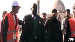 Наблюдатели от ЛАГ на улицах города Хомс