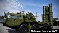 An S-400 air-defense system