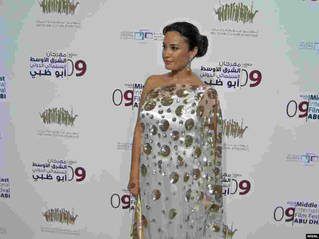 هندی صبری هنرپیشه تونسی و عضو هیات داوران جشنواره ابوظبی
