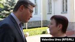 Igor Corman și Valentina Ursu.