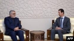 علاالدین بروجردی، روز پنجشنبه در جریان سفر به سوریه با بشار اسد، رئیسجمهوری این کشور دیدار و گفتوگو کرد