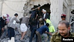 محل برخورد خودرو با دیوار محل زندگی سفیر ایران در صنعا