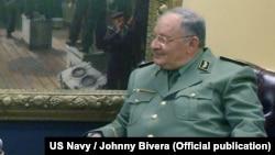 Алжир әскері бас штабының басшысы Ахмед Гаед Салах.