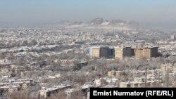 Город Ош на юге Кыргызстана.