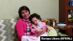 Irina Verbanov şi fiica sa Olga