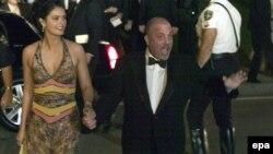 Билли Джоэл и его жена Кейти. Палм-Бич, 2005