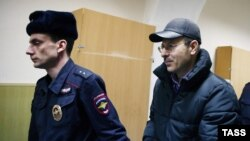 Руководитель охранной организации аэропорта Андрей Данилов на заседании суда 9 февраля 2016 года
