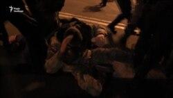 Сутички в Києві: затримали Коханівського (відео)