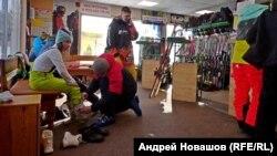 Прокат горнолыжного снаряжения