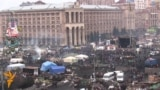 Calm Vigilance On Kyiv's Independence Square