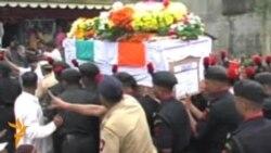 В Індії ховали військових, загиблих у Кашмірі