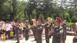 OZOD-VIDEO: Тошкентда Ғалабанинг 71 йиллиги Георгий тасмалари билан нишонланди