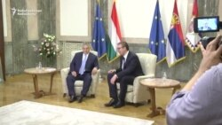 Hungarian Prime Minister Viktor Orban Meets Serbian President Aleksandar Vucic In Belgrade