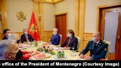 Session of the Council for Defense and Security of Montenegro, at which the security situation was analyzed due to the enthronement of the Metropolitan of Montenegro and the Littoral of the Serbian Orthodox Church (SPC), Joanikije, in Cetinje