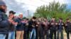 Соседи убитого в селе Заветное Наби Рахимова совершают намаз